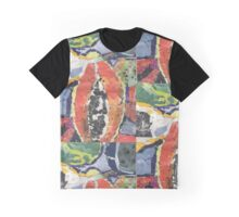 Fruit Collage Graphic T-Shirt