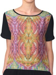 Psydefx Psychedelic Trippy 1 Chiffon Top