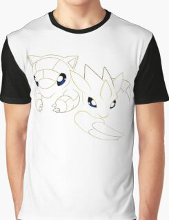 Sandshrew and Sandslash Graphic T-Shirt