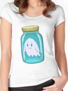 Small Bottle - RICK MORTY Women's Fitted Scoop T-Shirt