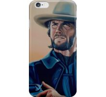 Clint Eastwood Painting iPhone Case/Skin