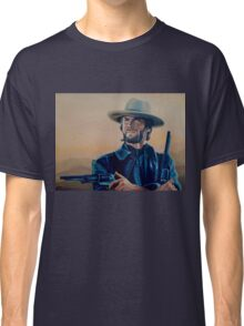 Clint Eastwood Painting Classic T-Shirt