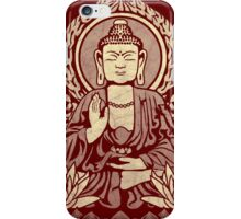 Siddhartha Gautama Buddha Yellow iPhone Case/Skin