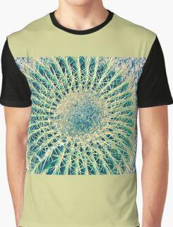 Barrel Cactus - Phoenix AZ Country Club Park Graphic T-Shirt