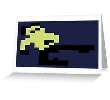 Bruce Lee C64 Greeting Card