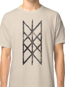 Web of Wyrd - Black Rune Classic T-Shirt