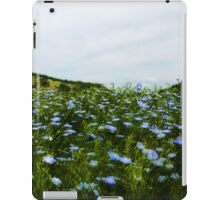 Grass Field And Flowers 2 iPad Case/Skin
