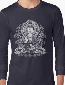 Siddhartha Gautama Buddha White Long Sleeve T-Shirt