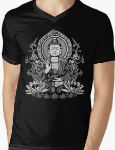 Siddhartha Gautama Buddha White Mens V-Neck T-Shirt