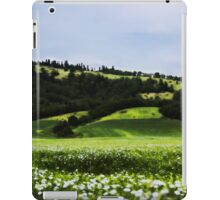 Grass Field And Flowers 3 iPad Case/Skin