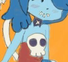 Chibi Squigly- Skullgirls Sticker