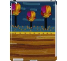 Magical Landscape of rainbow trees iPad Case/Skin