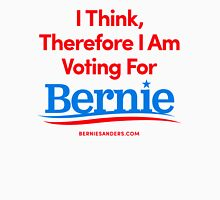 I Think, Therefore I Am Voting For Bernie Sanders (Red, White, Blue) Unisex T-Shirt