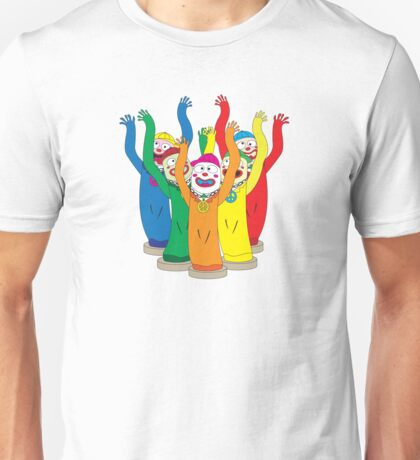 Weird & Wacky Waving Inflatable Arm Flailing Tube Man Unisex T-Shirt