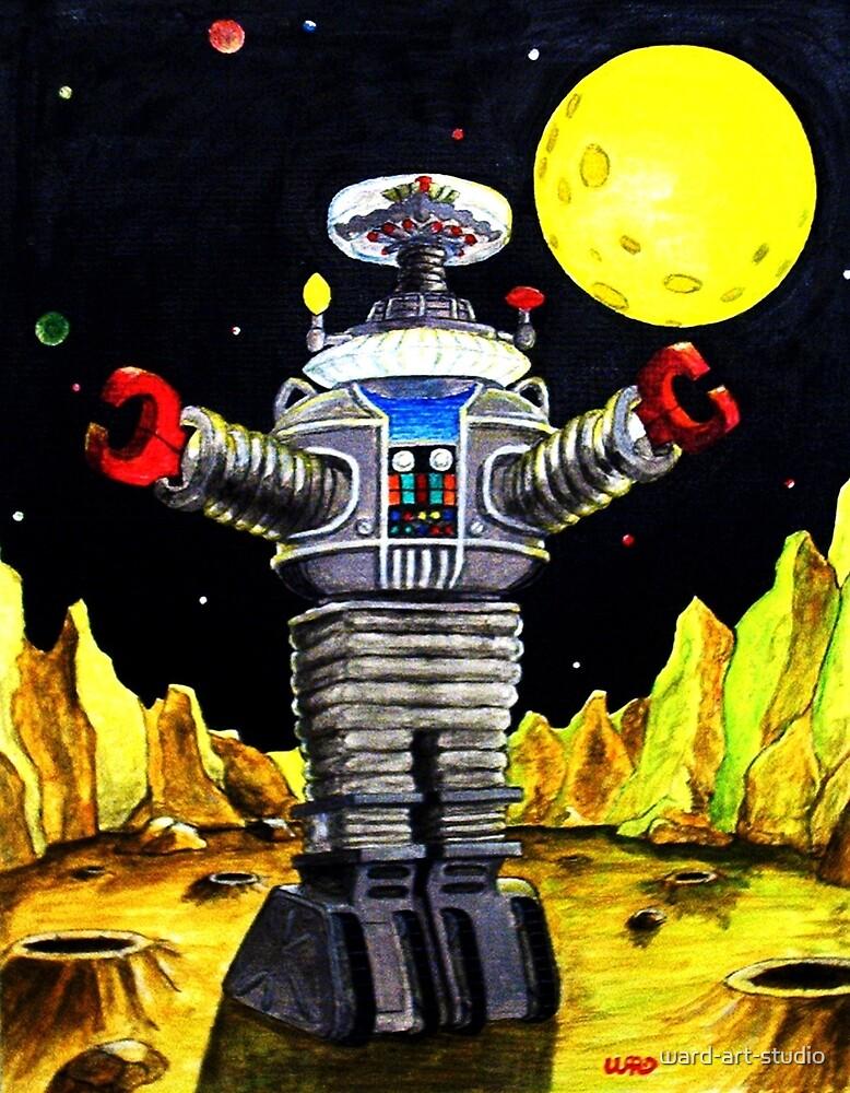 B-9 ROBOT LOST IN SPACE by ward-art-studio