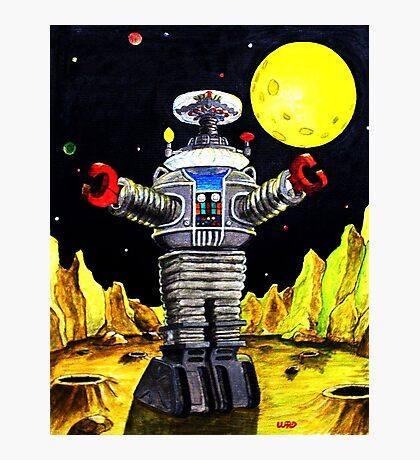 B-9 ROBOT LOST IN SPACE Photographic Print