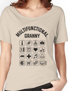 Multifunctional Granny (16 Icons) Women's Relaxed Fit T-Shirt