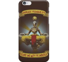 Embrace tranquility iPhone Case/Skin