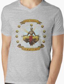 Embrace tranquility Mens V-Neck T-Shirt