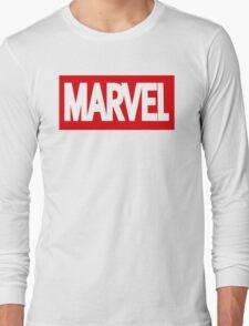 Marvel Logo Long Sleeve T-Shirt