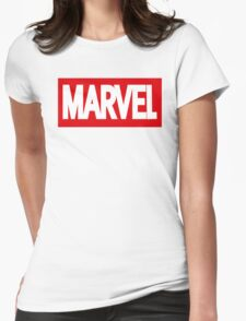 Marvel Logo Womens Fitted T-Shirt