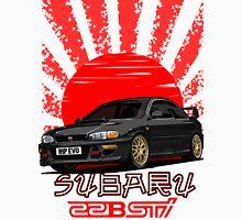 Subaru Impreza 22B WRX STI - R.I.P. EVO (Black) Classic T-Shirt