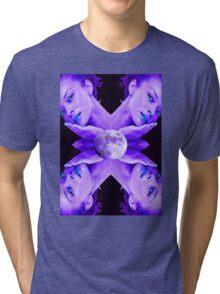 SELENE MOON GODDESS Tri-blend T-Shirt