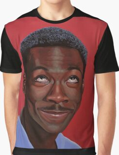Eddie Murphy Painting Graphic T-Shirt