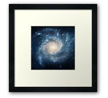 Spiral galaxy Framed Print
