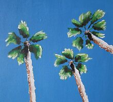 Palm trees by yoitslinds