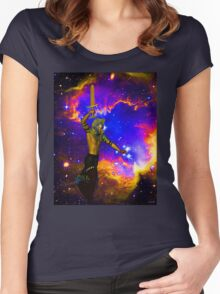 STAR FIGHTER Women's Fitted Scoop T-Shirt
