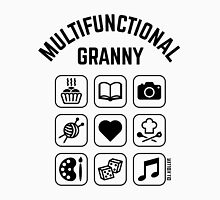 Multifunctional Granny (9 Icons) Womens Fitted T-Shirt