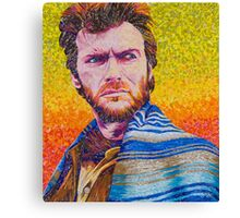 The Eastwood Stare Down Canvas Print