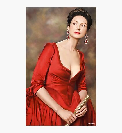 Lady in Red Photographic Print