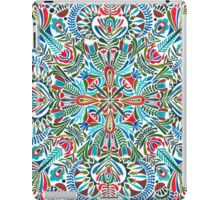 The middle of the Earth -  mandala pattern iPad Case/Skin