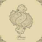 Pisces gold by elangkarosingo