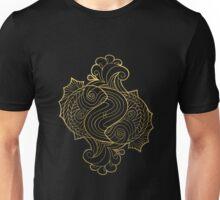 Pisces gold Unisex T-Shirt