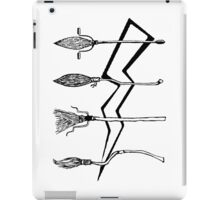 Funny Broomstick iPad Case/Skin