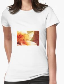 Lily art Womens Fitted T-Shirt