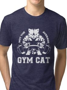 Not the average GYM CAT Tri-blend T-Shirt