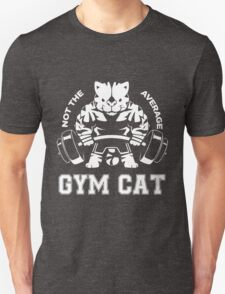 Not the average GYM CAT Unisex T-Shirt