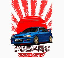 Subaru Impreza 22B WRX STI - R.I.P. EVO (Blue) Classic T-Shirt