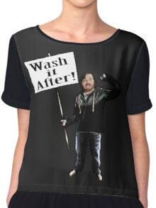 Wash It After Chiffon Top