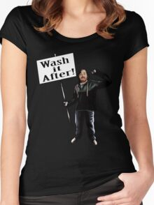 Wash It After Women's Fitted Scoop T-Shirt