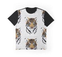 Green Eyed Tiger Cub Graphic T-Shirt