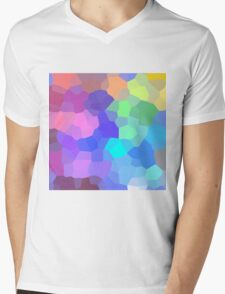 Palette Mens V-Neck T-Shirt