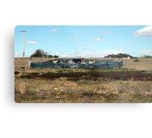His  Property Metal Print