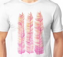 Pink Ombré Seaweed Unisex T-Shirt