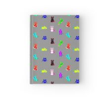 Teletext Mice on Grey Hardcover Journal