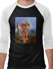 Fusion with the landscape Men's Baseball ¾ T-Shirt